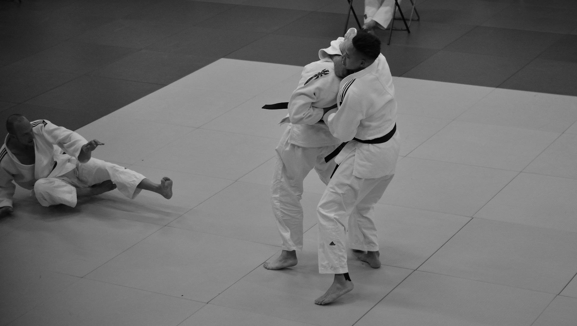 jiu-jitsu hulp aan derden door zelfverdediging technieken