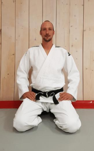 Sensei Bor is docent bij Budosport Neuhaus
